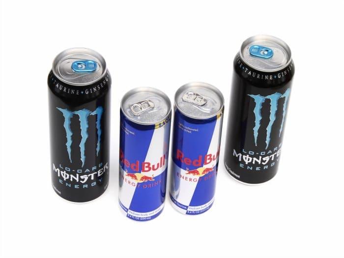 Las bebidas energizantes no son necesarias