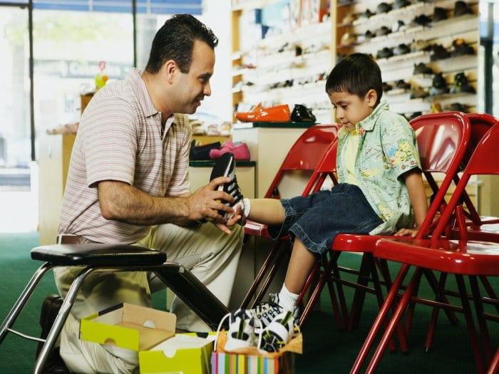 Consejos para elegir el mejor zapato infantil