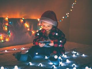 mantener los niños sanos en navidad