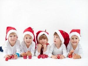 Consejos para mantener a los niños sanos en Navidad