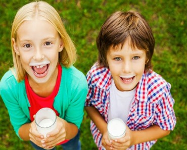 Alternativas a la leche de vaca para niños