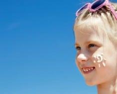 Importancia de la protección solar en los niños