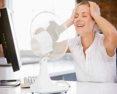 Cómo tratar los sudores y sofocos nocturnos
