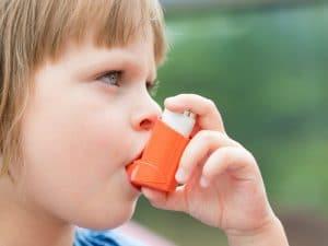 Niños y alergia