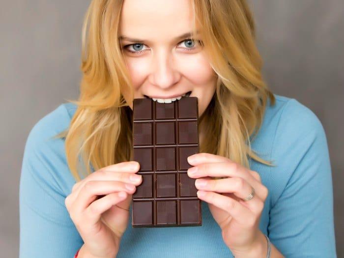 El deseo de comer chocolate puede indicar la falta de magnesio
