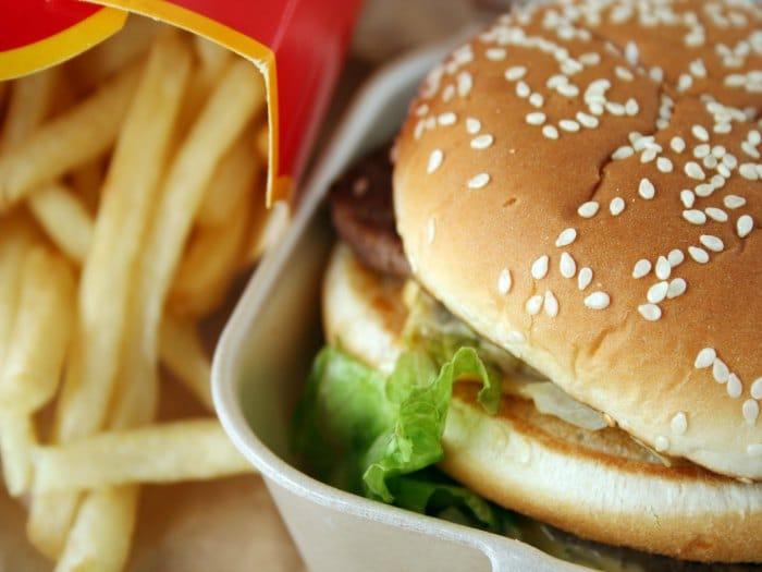 Toxicos en los envoltorios del fast food