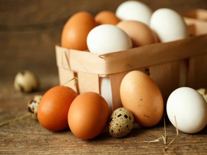 Los huevos son ricos en vitamina B