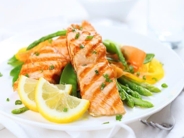 El pescado azul es rico en vitamina D