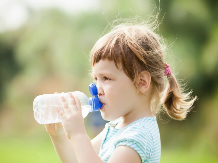 Causas da desidratação em crianças