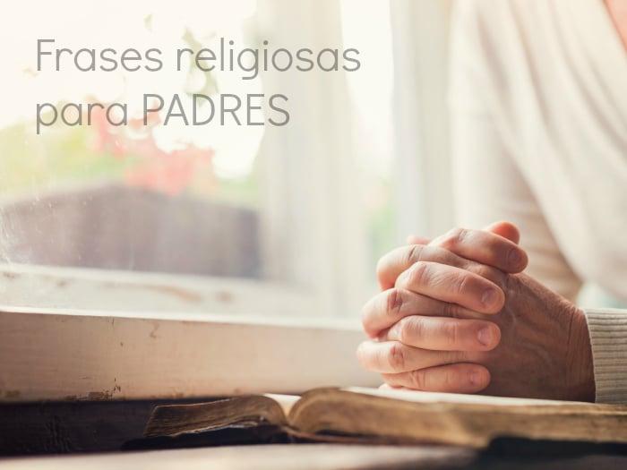 Frases religiosas para padres