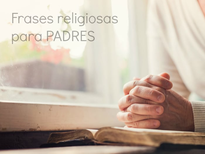 Frases religiosas para un padre