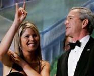 Bush y Ana Botella
