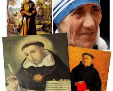 Doce de las más lindas Frases Religiosas de Santos  de la Iglesia Católica