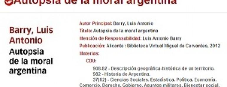 Política argentina actual a examen