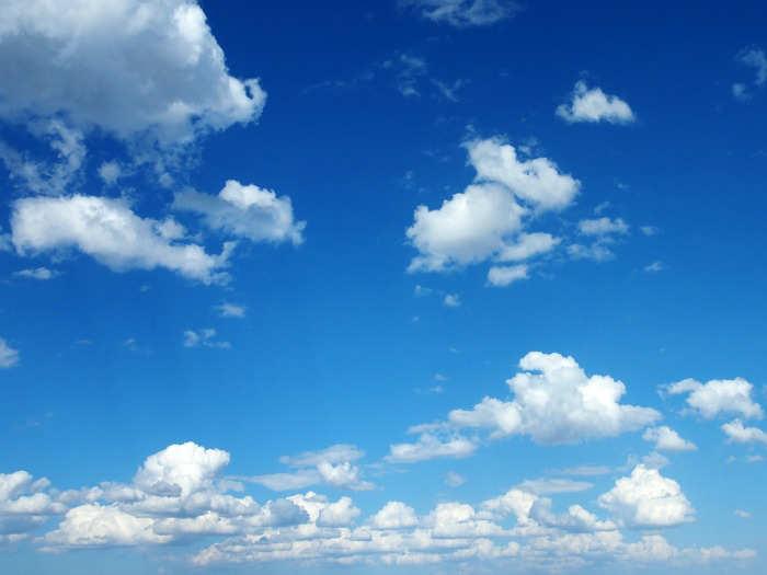 Fotos E Imagenes Cielo Azul Con Nubes: Soñar Con Cielo