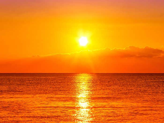 soñar con sol