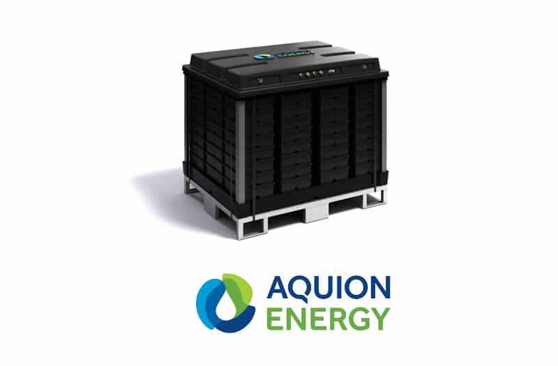 Baterías de energía renovable