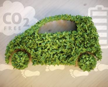 coche con combustible de hidrógeno