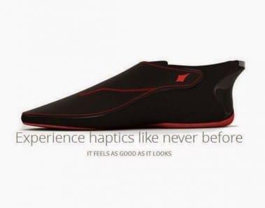 Lechal, un calzado inteligente con ayuda de navegación