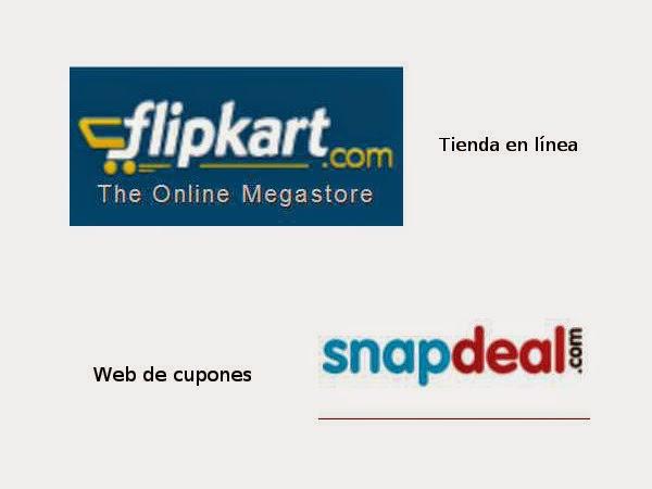 Flipkart y Snapdeal