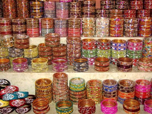 Artesanía de la India: pulseras