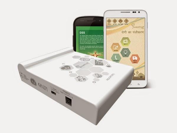 Swastaya Slate, dispositivo y app de salud