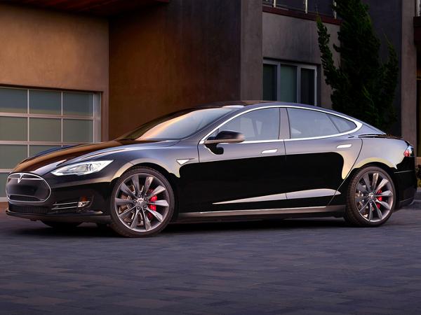 Vehículo eléctrico Model S de Tesla