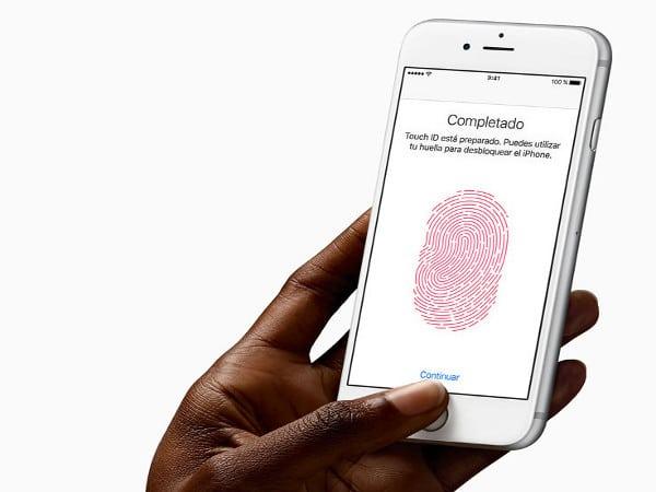 Touch ID en el iPhone de Apple