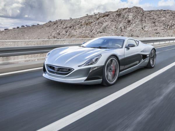 Concept One, de Rimac Automobili, el coche eléctrico más rápido del mundo