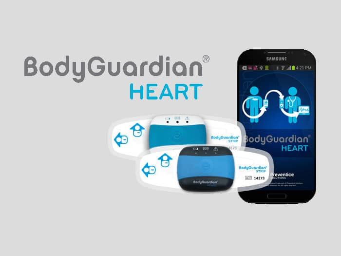 BodyGuardian Heart, wearable de monitorización cardíaca desarrollado por Preventice Solutions