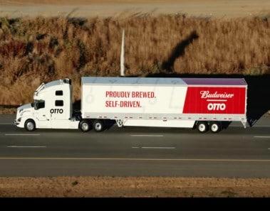 El camión autónomo de reparto de Uber realiza con éxito su primera entrega comercial