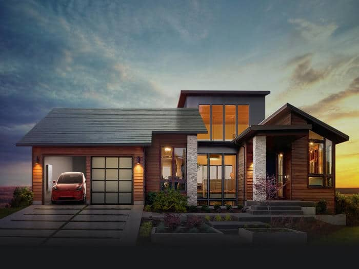 Nuevo tejado solar de SolarCity que se confunde con el de una casa normal