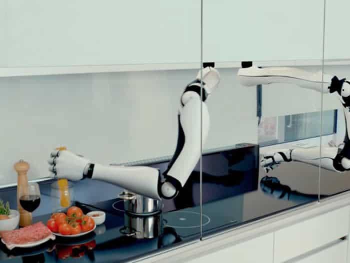 Moley el robot que cocina imitando a los mejores chefs for Robot de cocina botticelli