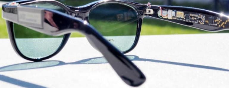 Gafas de sol que generan electricidad