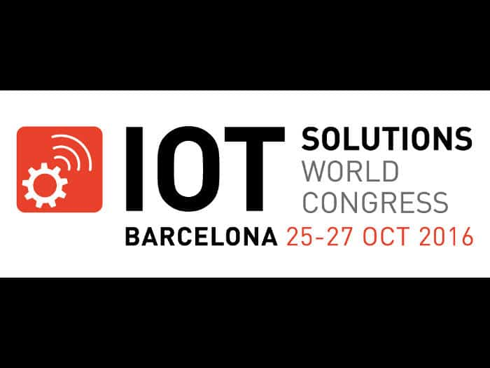 Llega a Barcelona el IOT Solutions World Congress 2016
