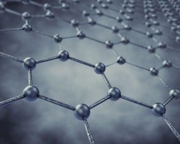 Lámina del nanomaterial grafeno