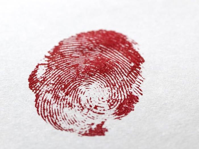 Nanotecnología en la escena de un crimen