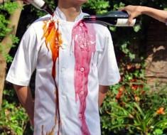 Ropa de chef con nanotecnología que no se mancha