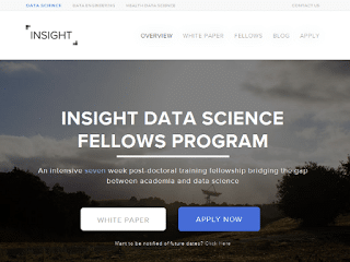 Programa postdoctoral en big data, llamado Insight Data Science