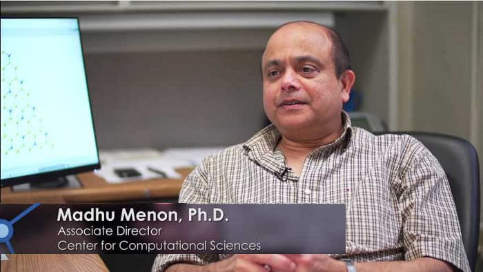 Madhu Menon, físico de la Universidad de Kentucky, EE.UU.