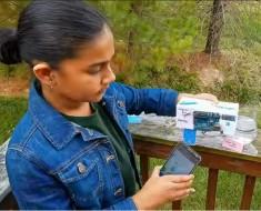 Una niña de 11 años inventa un detector de plomo en agua con nanotecnología
