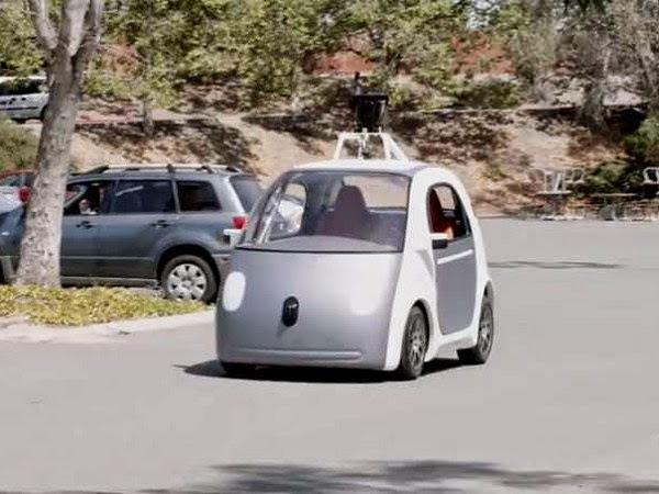 Vehículos autónomos o sin conductor de Google
