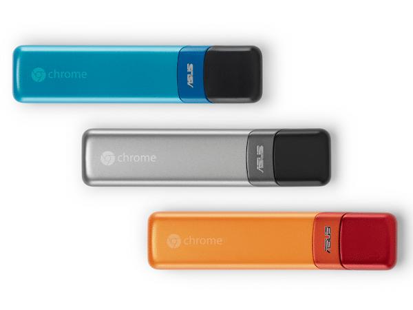 Google desarrolla Asus Chromebit, un dispositivo capaz de convertir cualquier pantalla en un PC