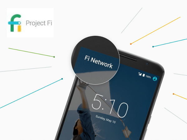 Servicio de telefonía móvil Project Fi, de Google