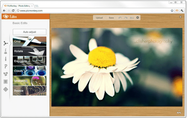 Extensión para Chrome: PicMonkey