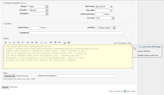 Extensión para Chrome: Lazarus Form Recovery
