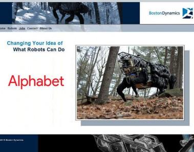 Google pone a la venta Boston Dynamics