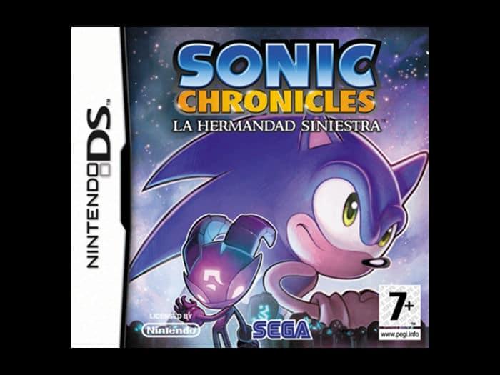 Juego Sonic Chronicles, la hermandad siniestra, de Nintendo DS