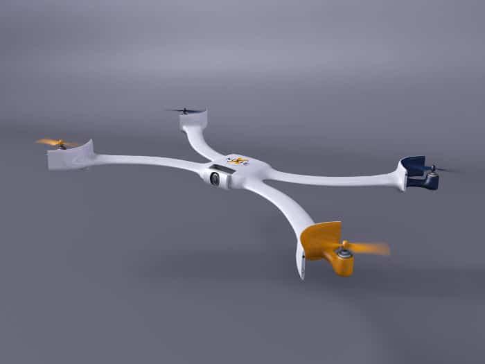 Nixie, un dron de pulsera