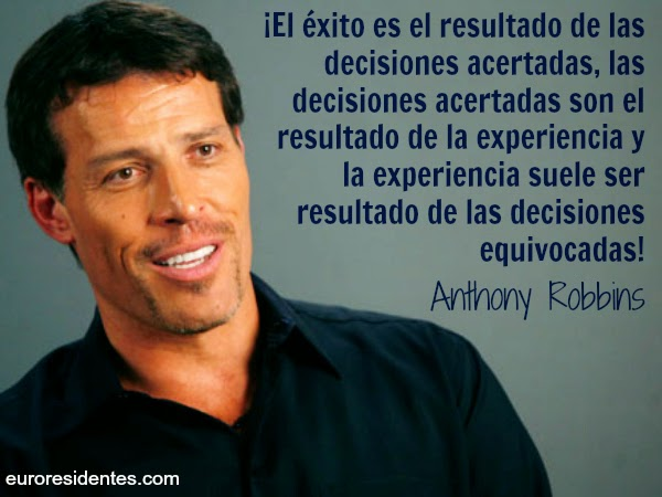 Frase de Anthony Robbins